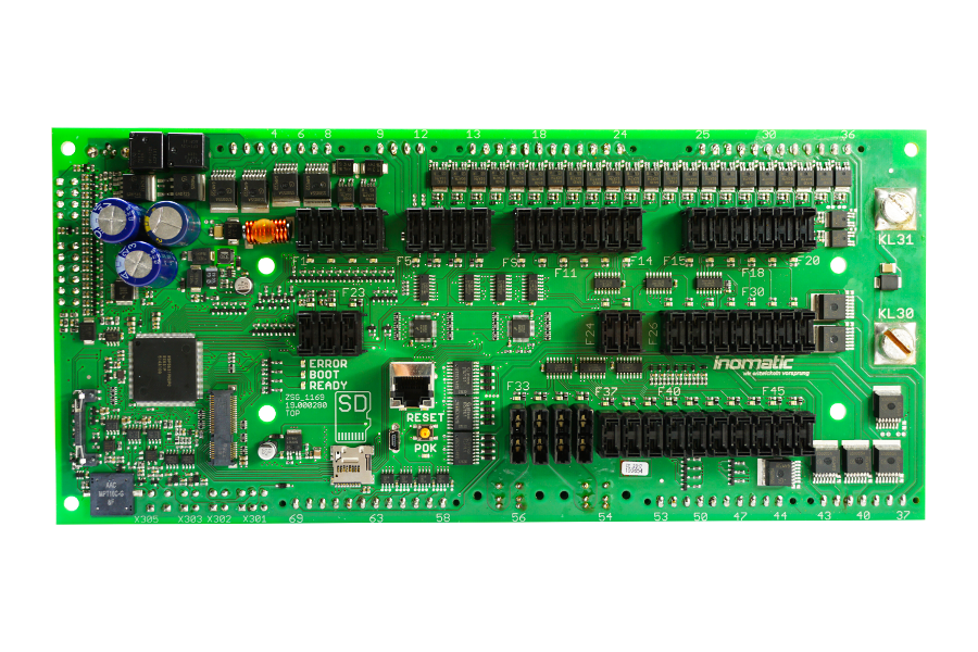 Central control unit (ZSG), freely programmable, CAN Bus, CIA447